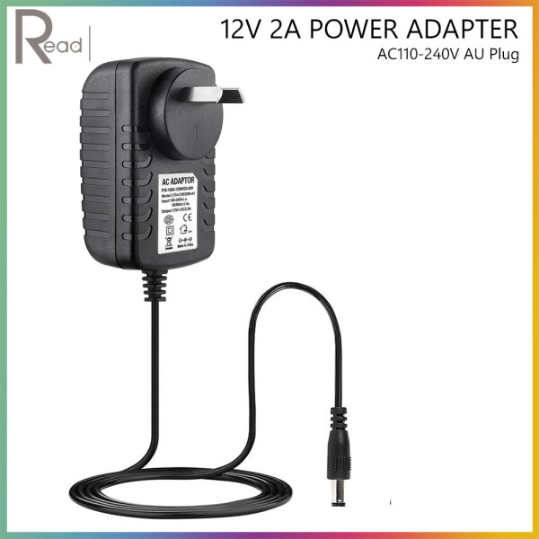 AC To DC 12V 2A Power Supply Adapter Converter  Recharger 5.5mm 2.5mm For CCTV Camera WiFi Router External Hard Drive LED Light with EU/AU/UK/US Plug Model