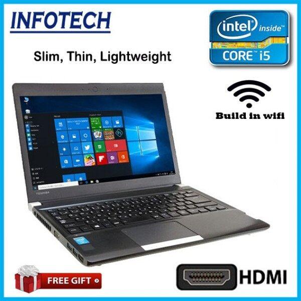 ( HDMI) Toshiba Slim Intel i5 , 4GB or 8GB ddr3 , 320GB hdd ssd, vga , w10pro , laptop notebook netbook ( optional i3 ) Malaysia