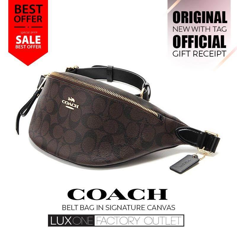 Coach belt bags