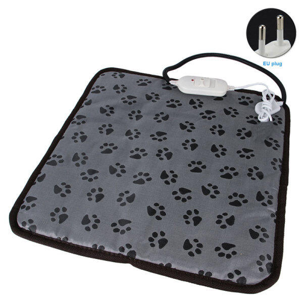 Pet carer Pet điện sưởi thảm mềm ấm cúng Pad chó không thấm nước sưởi ấm chăn Thảm Pet 110V điều chỉnh nhiệt độ sưởi ấm tấm đệm ấm cho chó mèo