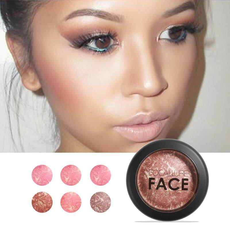 Focallure 6 Colors Makeup Baked Blush Bronzer Blusher By Focallure Official Store.