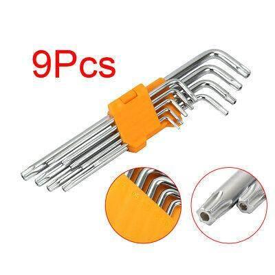 9PCS Torx Hex Key Wrench Set With Long Arm