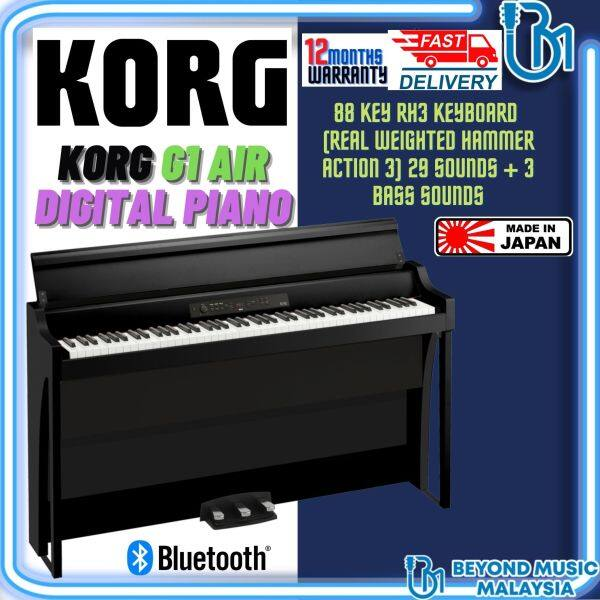 Korg G1 AIR Digital Piano with Bluetooth (G1Air 88/G1-Air 88/G1 Air-88) Malaysia