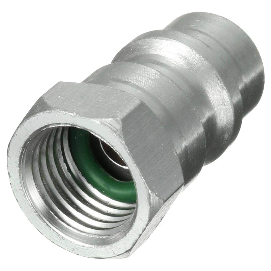 R12 R22 R502 to R134A Fast Quick Conversion Adapter Valve 1/4 to 8v1 Thread US