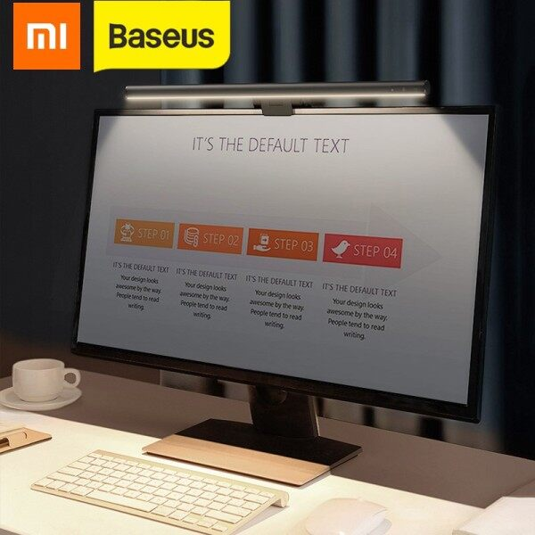 Xiaomi Baseus Youth Screen Light Home Office Computer Laptop Screen Book light For LCD Monitor Lamp Study Reading Light PC night Light