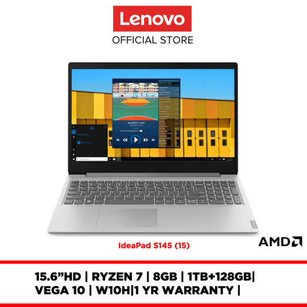 Lenovo Notebook Laptop IdeaPad S145-15API 81UT0040MJ 15.6 HD/8GB/W10H/1TB+128GB SSD/VEGA 10/1YR WARRANTY Malaysia