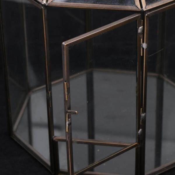 Loviver Geometric Terrarium Faceted Succulent Plants Air Planter Home Table Decor