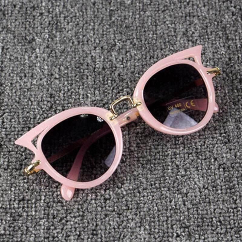 Kacamata Hitam Anak Kartun Mata Kucing Anak Kacamata Anak Laki-Laki Anak Perempuan Uv400 Lucu Kacamata Hitam By Rytain.