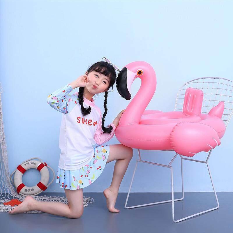 Veecome Bayi Bentuk Hewan Kartun Cincin Renang Tiup Untuk 0-4 Tahun Pelampung Renang By Veecome