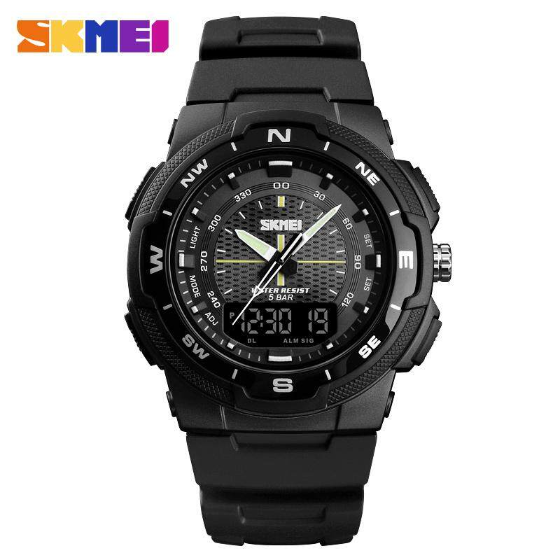 SKMEI Men Watch Quartz Sports Watches Mens Watches Top Brand Luxury Business Waterproof Wrist Watch 1454 Malaysia