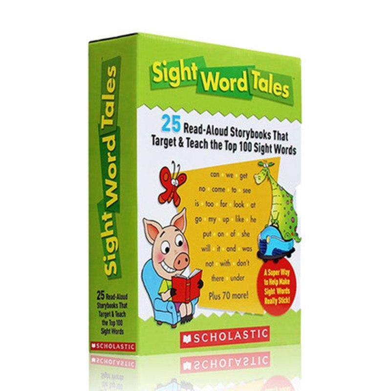 Sight Word Tales Kids Children English Word Study Story Picture Books Baby Early Learning Reading Book Education Read-Aloud Storybooks That Target & Teach The Top