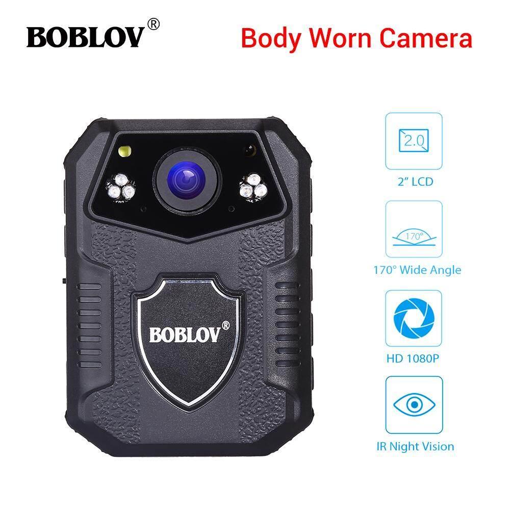 Boblov กล้องที่สวมใส่ร่างกาย 4 K Hd 1080 P 32 Gb Dvr Video Security 170 ° ไนท์วิชั่น Ir By Jiehaosheng Estore.