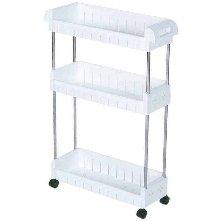 3 Tier Stackable Multipurpose Kitchen Storage Rack