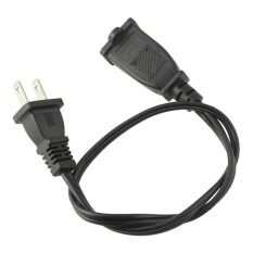 0.5M/1.6ft 10/13A AC US Plug Converter Power 2-Prong Male/Female Extension Cable