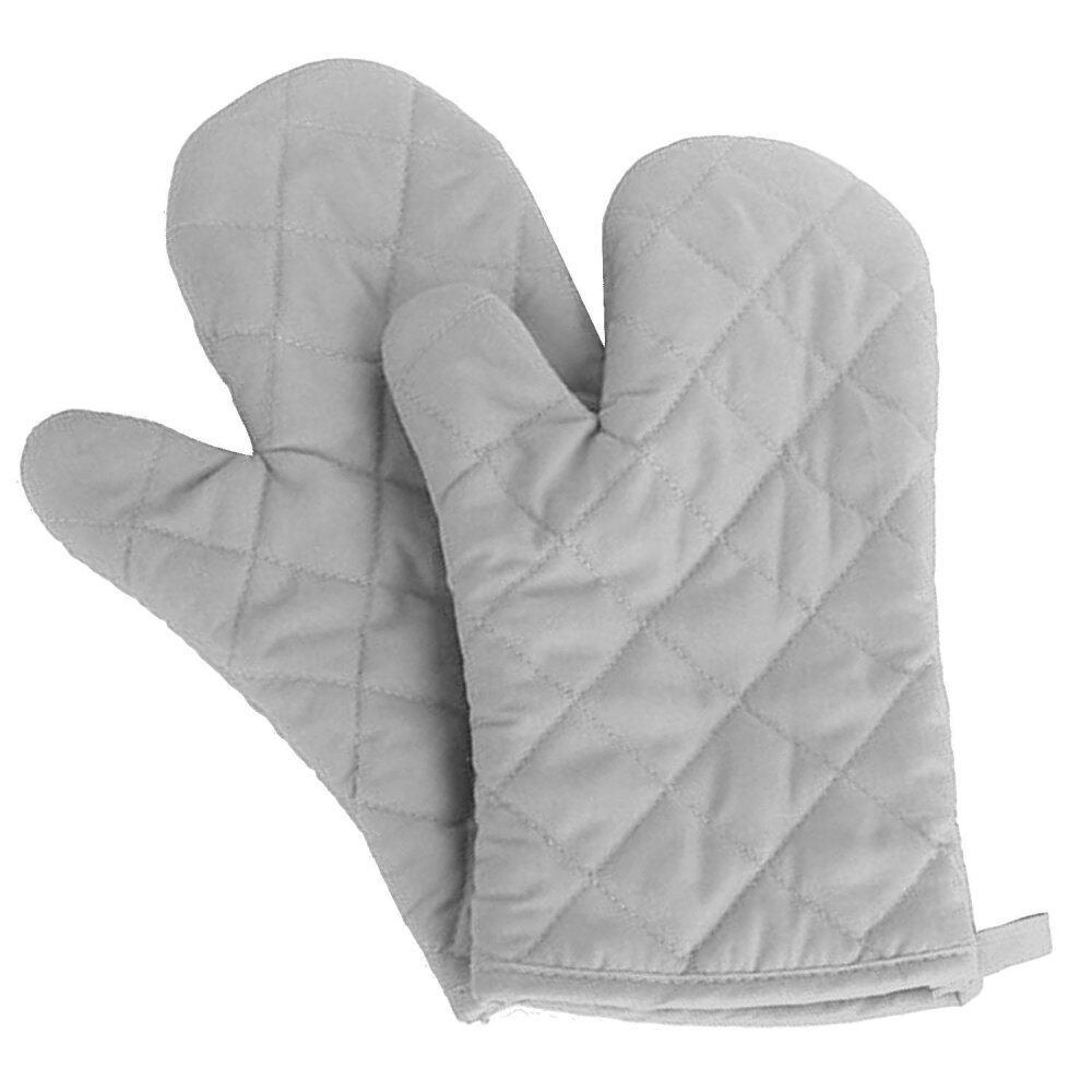 ZB 1 Pair Kitchen Gloves Baking Cooking Cotton Glove Microwave Oven Heat Resistant Gloves Mittens Light