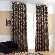 1 PCS 100x270cm Geometry semi-blackout bedroom blackout fabrics curtain