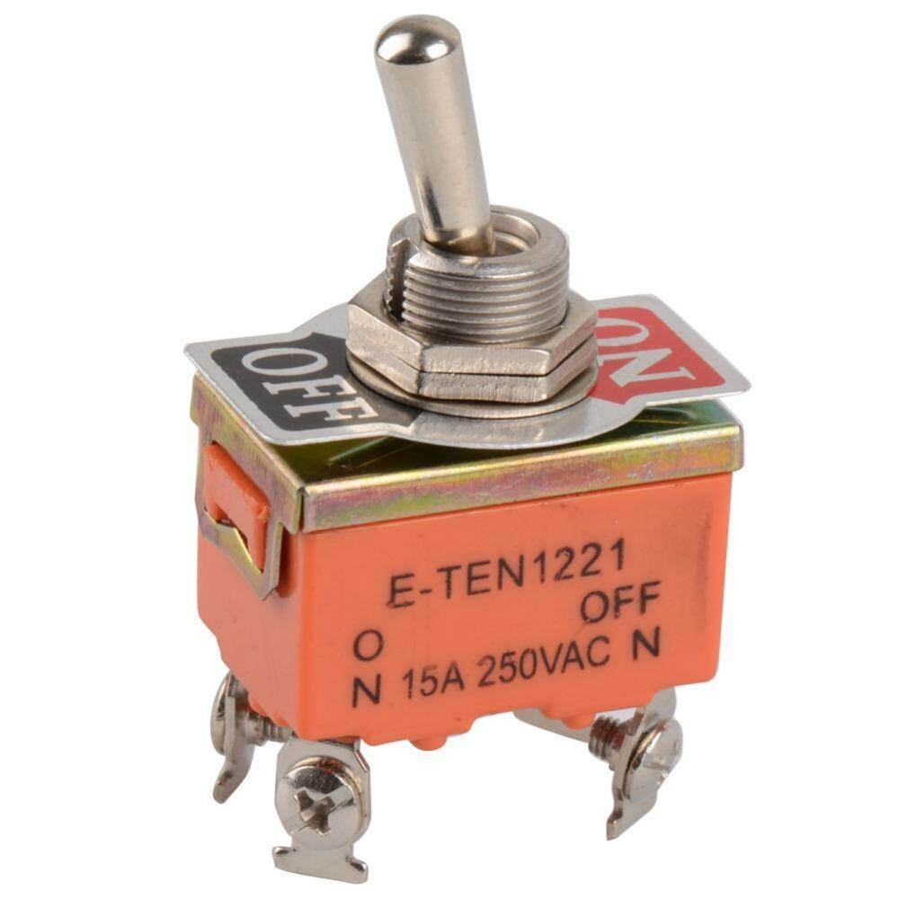 1 PCS New 4-PIN Toggle Switch ON-OFF Two Position Switch 15A 250V - intl