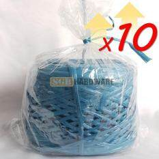 10 ROLLS BLUE COLOR RAFIA STRING (≈1KG PER ROLL)