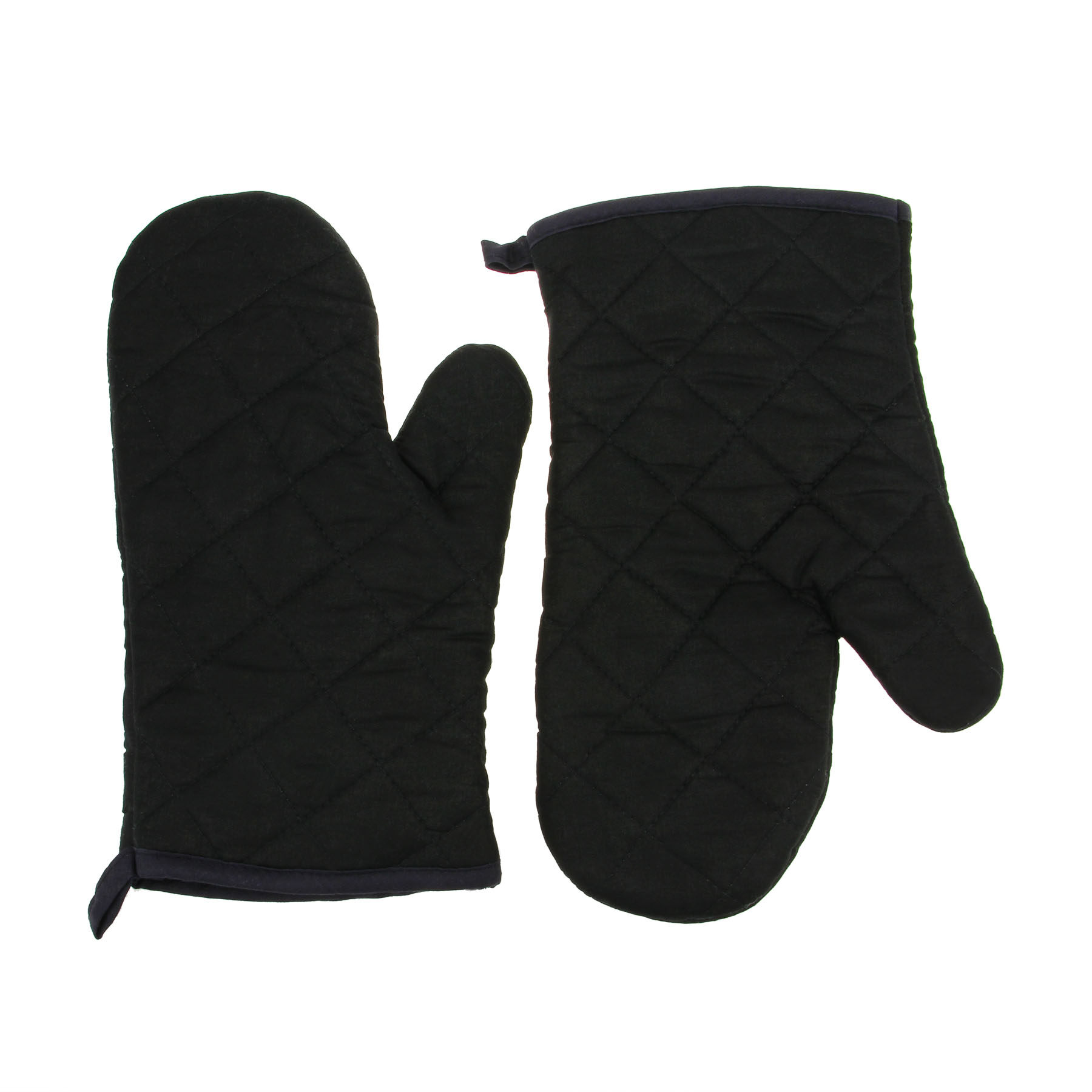 ZB 100% Cotton Thick Home Kitchen Baking Cook Insulated Padded Oven Gloves Heat Resistant Mitten