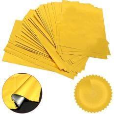 100 Sheets A4 Gold Hot Stamping Transfer Foil Paper Laminator Laminating Laser Printer Business Card DIY Craft