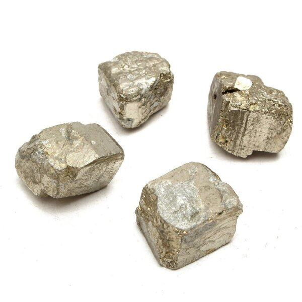 Mua 100G Vàng Đẹp Pyrit Sắt Tinh Thể Lập Phương Các Hạt Chữa Bệnh Viên Đá Thạch Anh