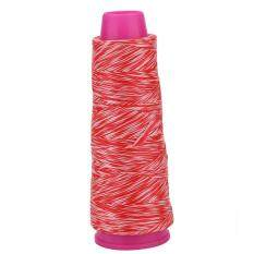100m Diameter 0.3mm Strong Pull Serving Thread (red and white)