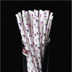 100pcs Animal Pattern Paper Straws Environmental Creative Drinking Straw Stick Birthday Wedding Decorative Event Party Supplies By Smilewill Store.