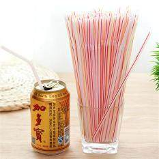 100pcs Colorful Design Plastic Straws Sticks Birthday Wedding Bar Decorative Party Event Drinking Cocktail Straws Supplies By Smilewill Store.