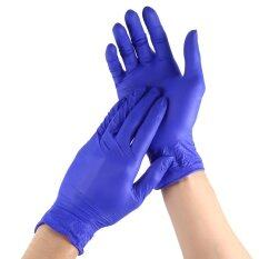 100Pcs Disposable Universal Non Latex Cleaning Gloves M