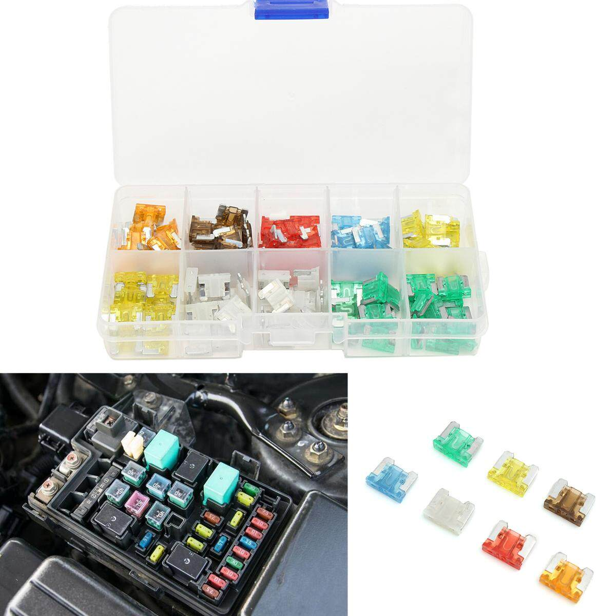 Buy Sell Cheapest 5 30 Mini Best Quality Product Deals Amp Car Fuse Box 100pcs Truck Low Profile Assorted 75 10 15 20 25