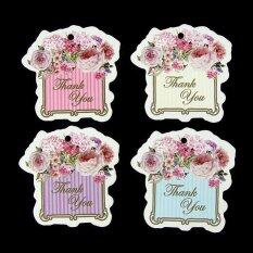 100pcs Tag Thank You - Model Gd243 By Memori Hati