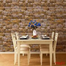 10M 3D Simple Modern Brick Wallpaper for Restaurant Coffee Shop Clothing Shop