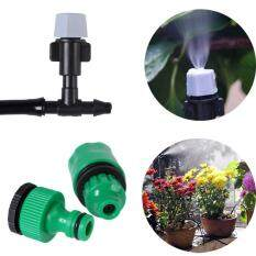 10m Outdoor Garden Patio Misting Cooling Irrigation System Hose 20 Mister Nozzle