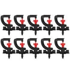 10pcs 360 Rotary G Type Micro Nozzle Sprinkler Plant Irrigation Atomizing