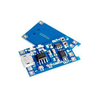 10pcs 5V Micro USB 1A 18650 Li.thium Charging Board With Protection Charger Module