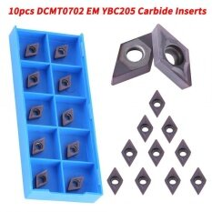 10pcs CNC Carbide Tips Inserts Blade Cutter Lathe Turning Tool With Box,Precision Hard Steel