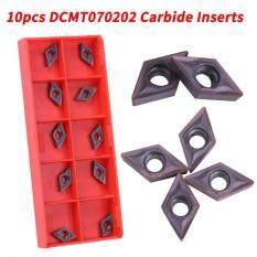 10pcs Coated CNC Carbide Tips Inserts Blade Cutter Lathe Turning Tool With Box