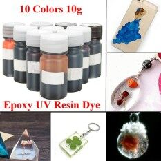 Mua 10Pcs Colors 10g Epoxy UV Resin Dye Colorant Resin Pigment Mix Color DIY Craft