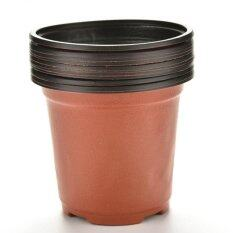 10pcs Mini Plastic Round Flower Pot Terracotta Nursery Planter Home Decor Hot By Toplans Watch Store.