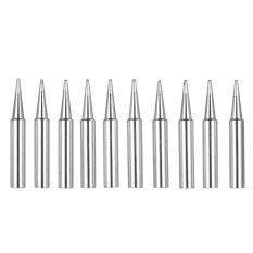 10PCS Soldering Iron Tips Replacement Solder Tip Lead-free Screwdriver Iron Tip 900M-T-B for Hakko 936 907 Soldering Rework Station Tool Kit