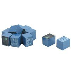 10Pcs SRD-05VDC-SL-C DC 5V Rating Coil SPDT Miniature Power Relay Blue (Intl)