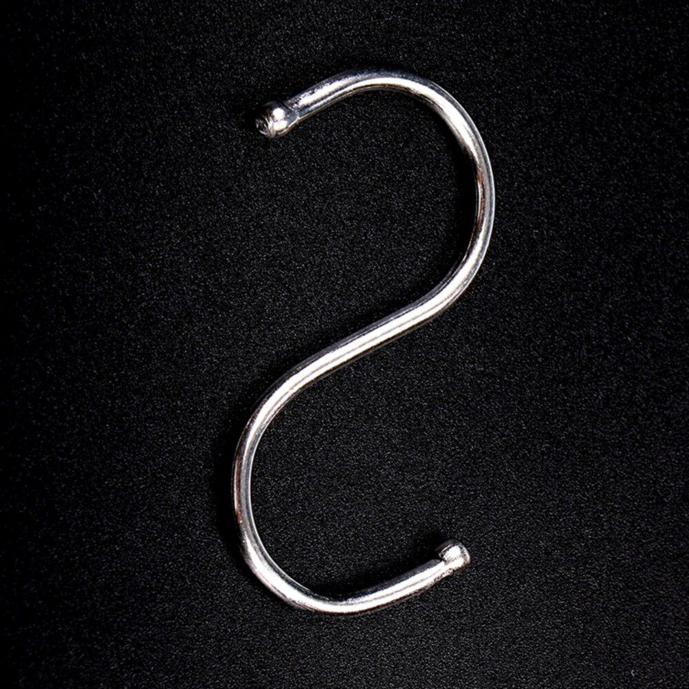 Rp 48.000 10pcs Stainless Steel S Hook .