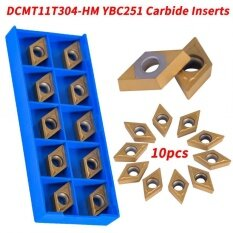 Qianmei 10pcs Superhard CNC Carbide Tips Inserts Blade Cutter Lathe Turning Tool With Box