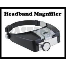 10X LED Headband Magnifier Lighted Head Magnifying Glass Loupe Watch 1242.1