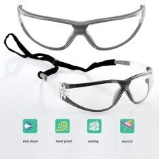 11394 Clear Safety Glasses Goggles Anti-Fog Windproof Anti Dust Resistant 99% UV