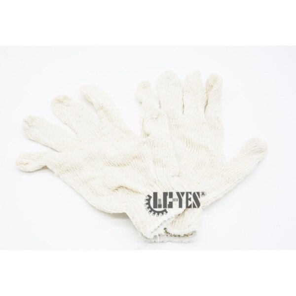 12 PAIRS ( 24 pcs ) High Quality Cotton Work Industrial Knitted Gardening Gloves Hands Safety Protective Glove Outdoor Safe Wear 450G