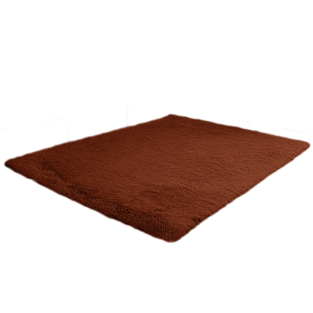 Buy 1 2 X 1 6M Fluffy Fashion Modern Floor Area Rug Carpet Mat Non Slip For Living Room Bedroom Bathroom Home Accessory Supplies Coffee Intl Cheap China