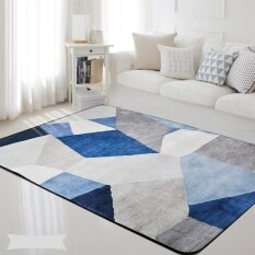 120*180cm Nordic Style Living Room Carpets Rugs Non-slip Sofa Tea Table Mat Bedroom Carpet Soft Bedside Footcloth Rectangle Floor Mats