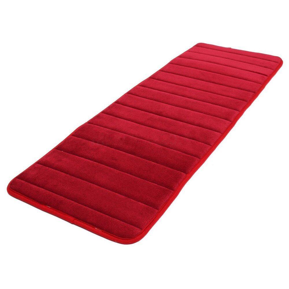 120X40 Cm Penyerap Anti Selip Memori Busa Dapur Pintu Kamar Tidur Keset Lantai Karpet Karpet Tanggal