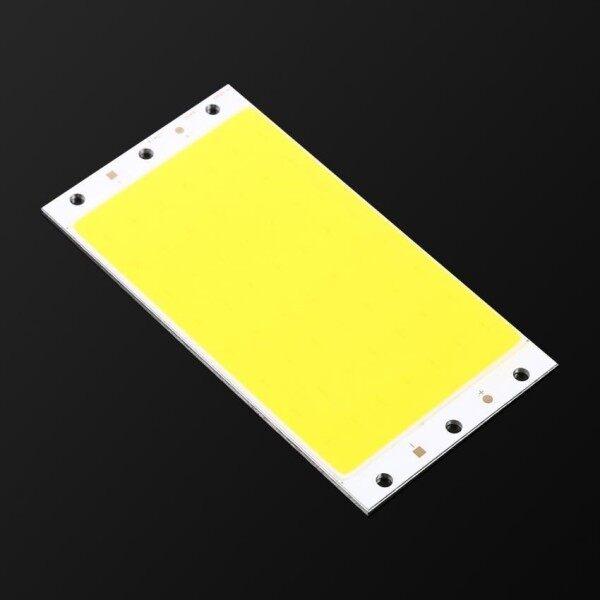 Dải Đèn LED COB Siêu Sáng Bền 12V-14V 30W, Chip Hạt Tự Làm 94*50MM Màu Trắng Tinh Khiết 6500K-Quốc Tế